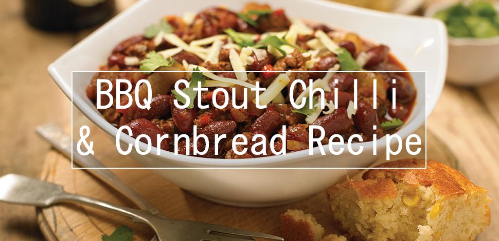 BBQ Stout Chilli & Cornbread Recipe