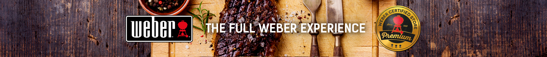 weber barbecues banner