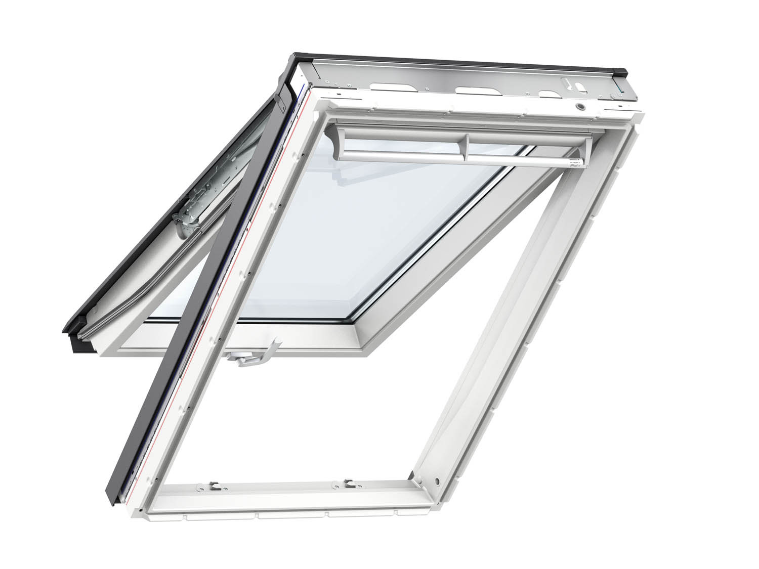 Velux 1.14m x 1.18m Top-Hung White Roof Window GPL2070 SK06