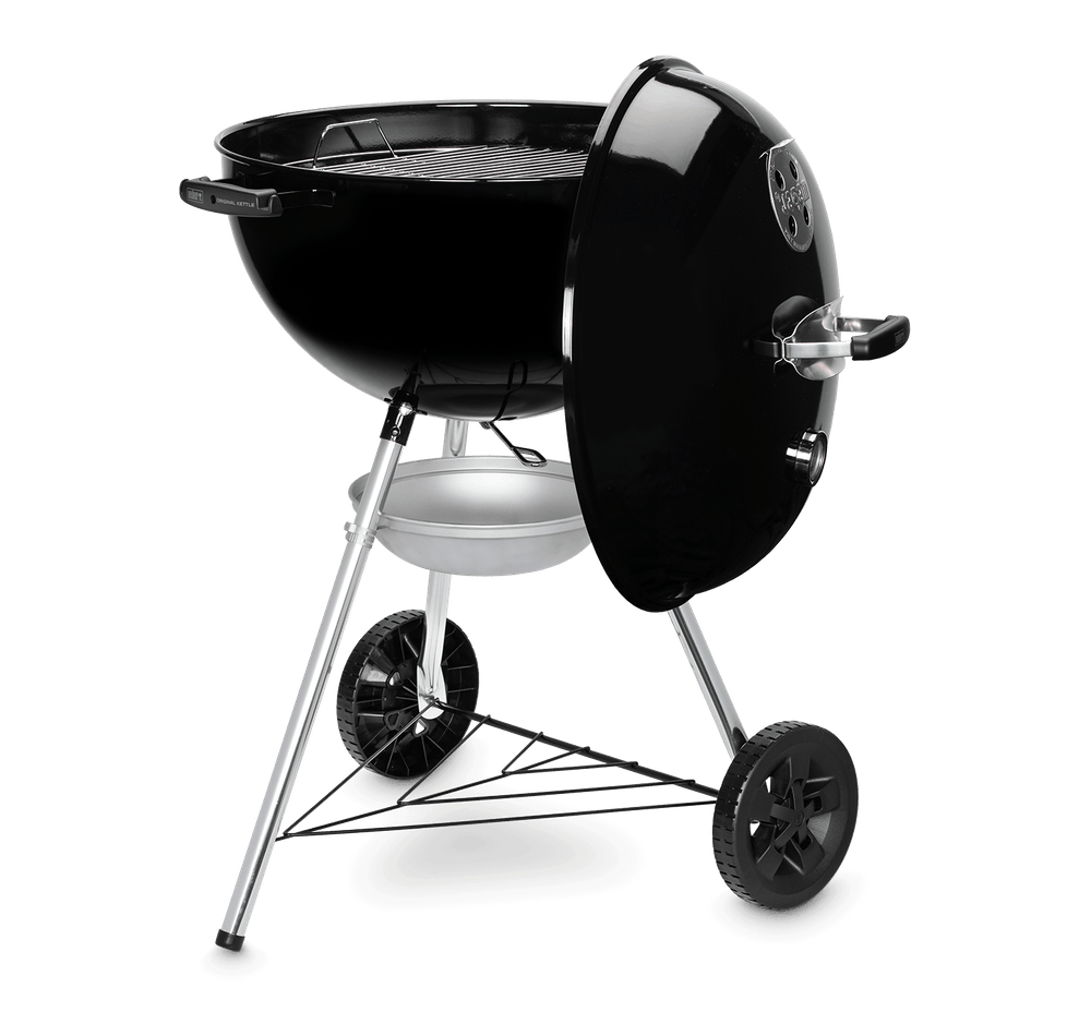 Weber Original Kettle E-5710 Charcoal Barbecue 57cm BBQ Black 14101004