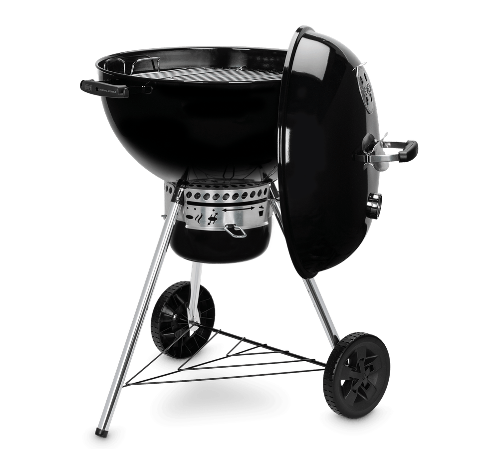 Weber Original Kettle E-5730 Charcoal Barbecue 57cm BBQ Black 14201004