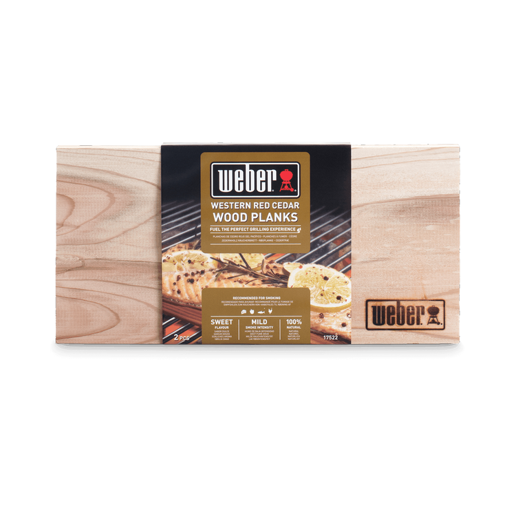 Weber Western Red Cedar Wood Planks Small 17522