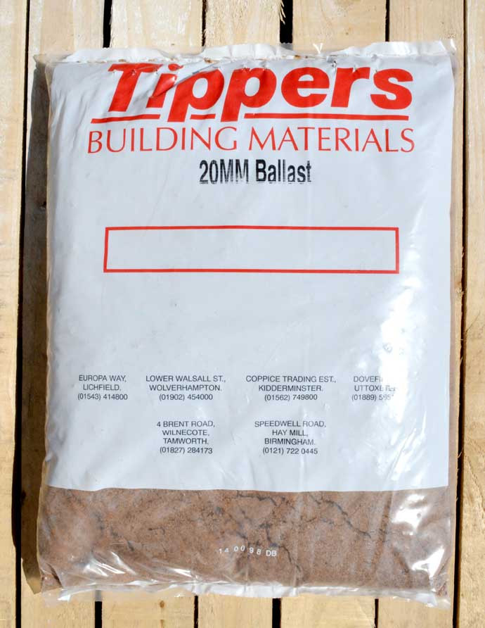 Tippers 20mm Ballast Bulk Bag