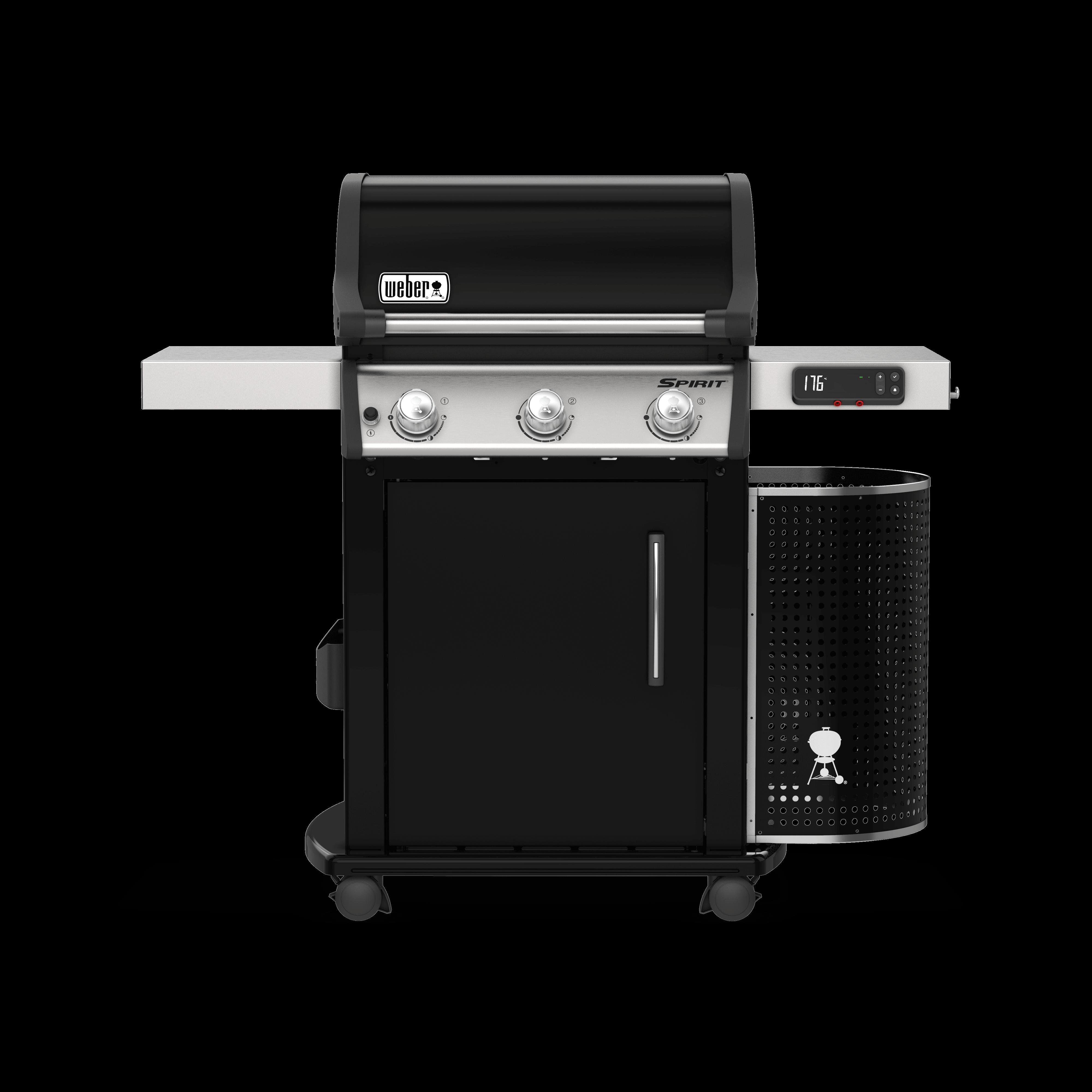 Weber Spirit II EPX-315 Black Gas Smart BBQ 46512574