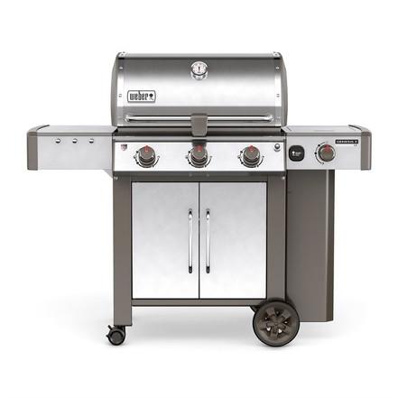 Weber Genesis II LX S-340 GBS Stainless Steel Gas BBQ 61004174