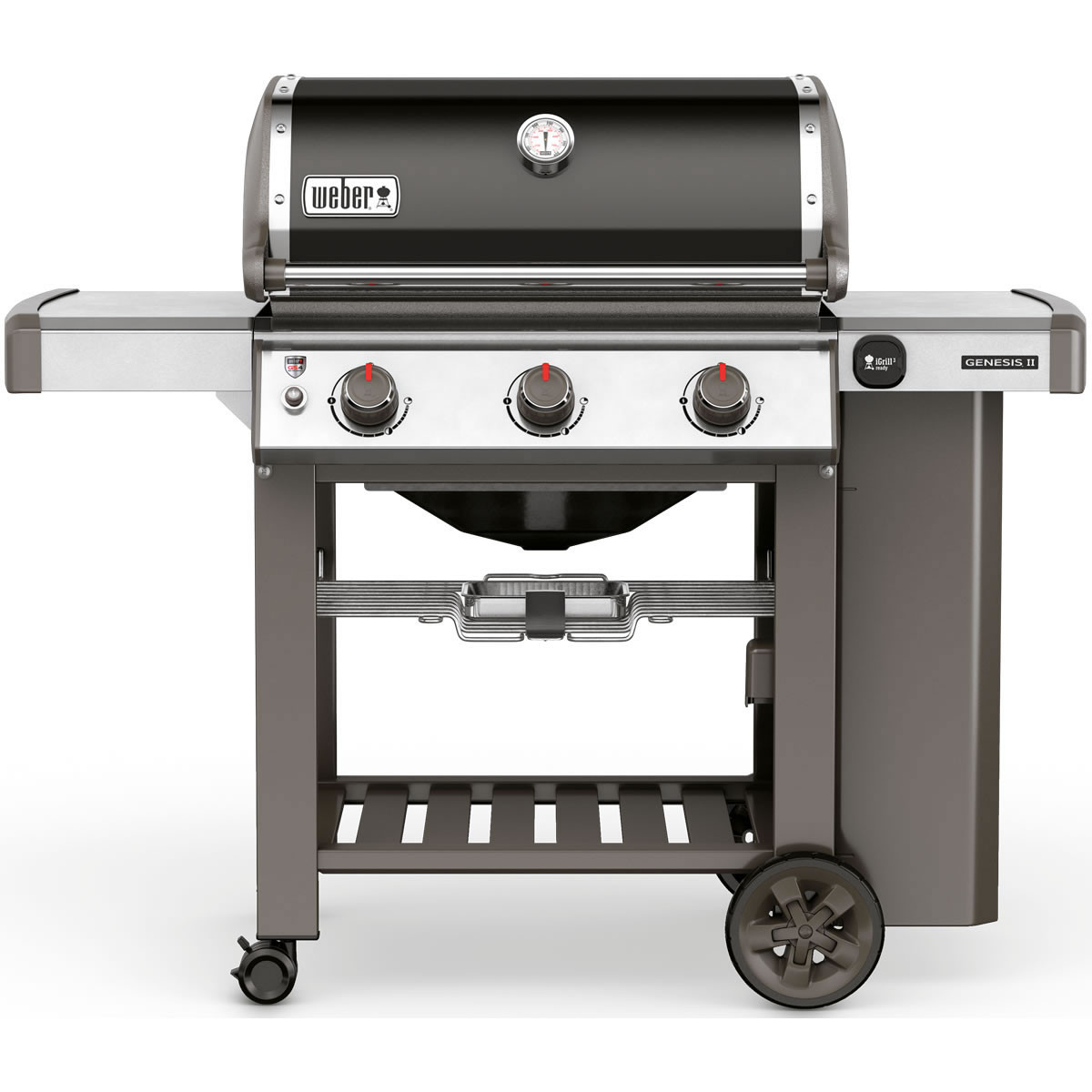 Weber Genesis II E-310 GBS Black Gas Barbecue 61010174