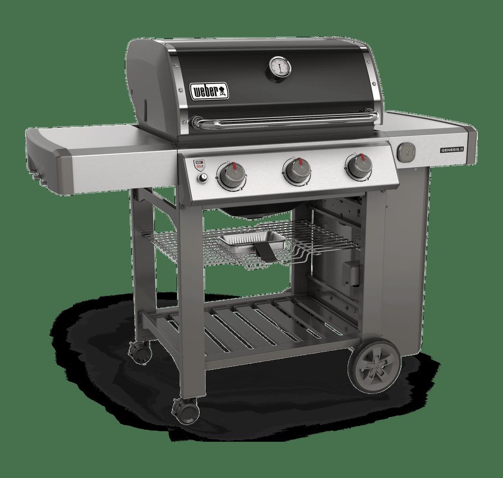 Weber Genesis II E-310 GBS Black Gas BBQ 61011174