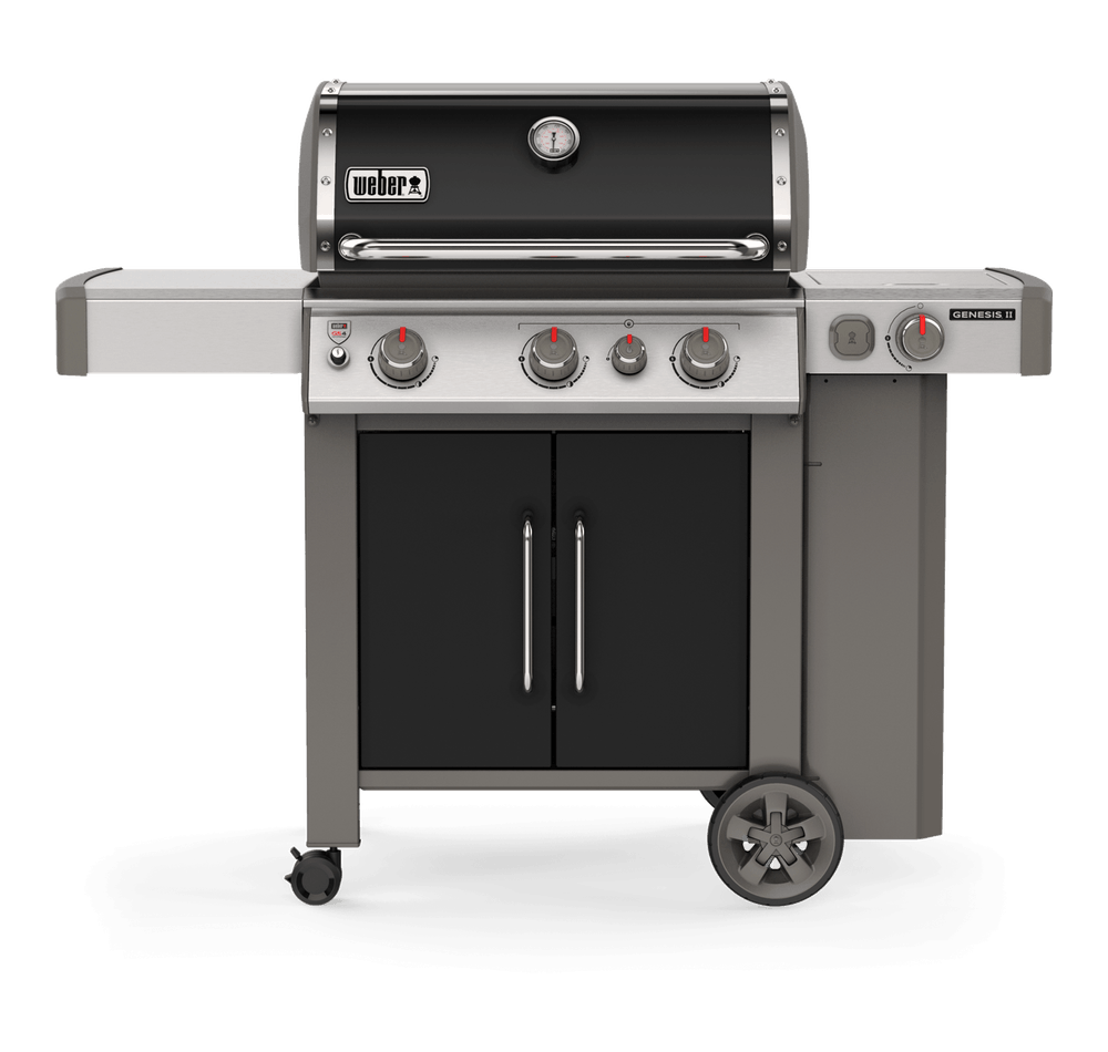 Weber Genesis II EP-335 GBS Black Gas BBQ 61016174 - NEW 2019 MODEL