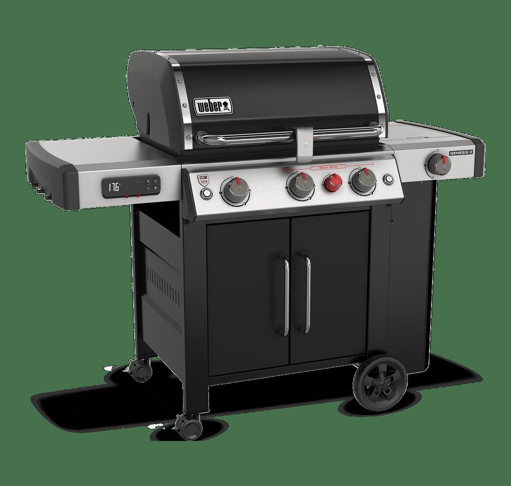 Weber Genesis II EX-335 GBS Black Gas BBQ 61016774 - NEW 2021 MODEL