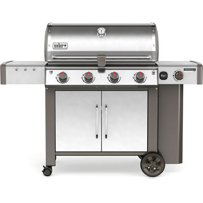Weber Genesis II LX S-440 GBS Stainless Steel Gas Barbecue 62004174