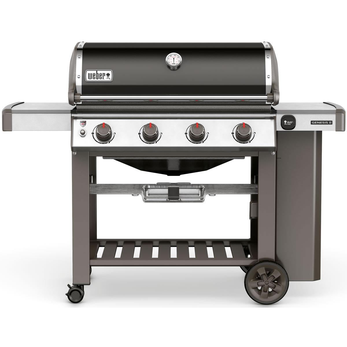 Weber Genesis II E-410 GBS Black Gas Barbecue 62010174