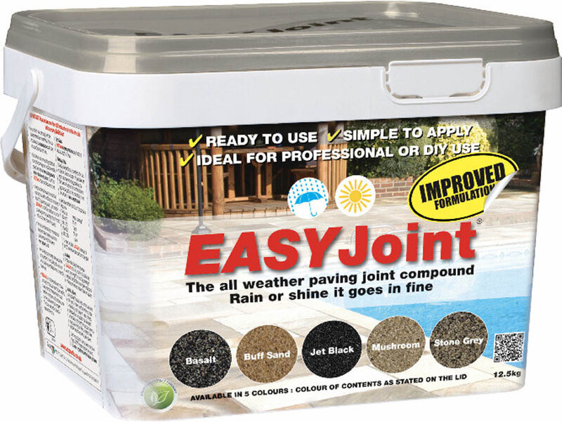 Easyjoint Paving Joint Compound 12.5KG Stone Grey