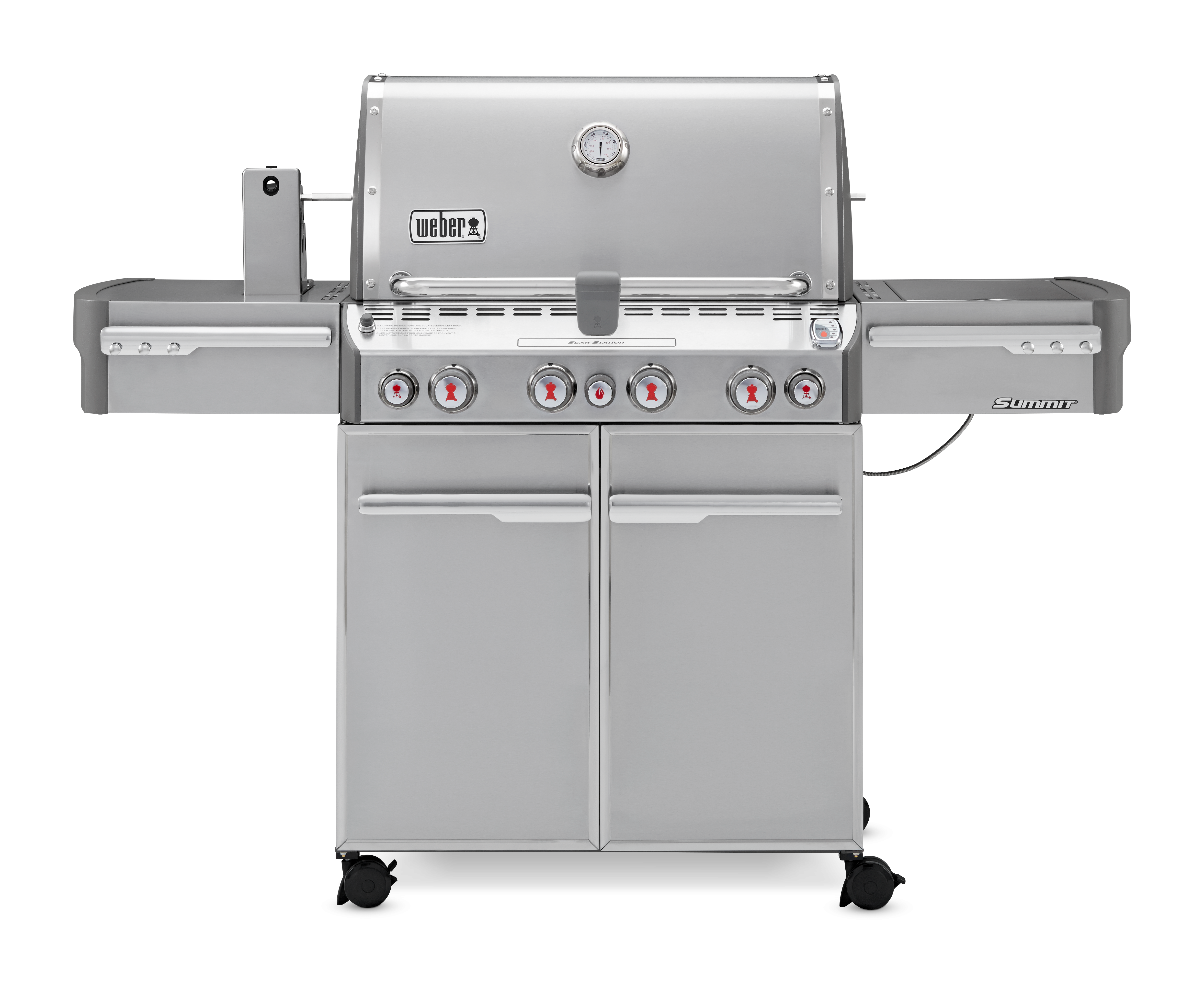 Weber Summit S-470 GBS Stainless Steel Gas BBQ 7170074