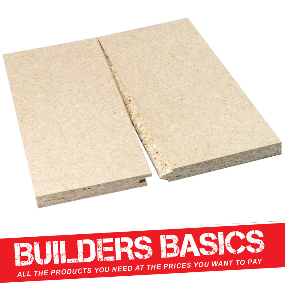P5 Tongue & Groove Chipboard 2.4m x 600mm x 22mm