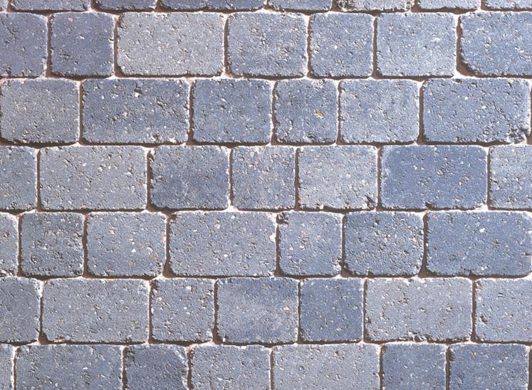 Como Cobblestones Granite Stone Mixed Size Block Paving