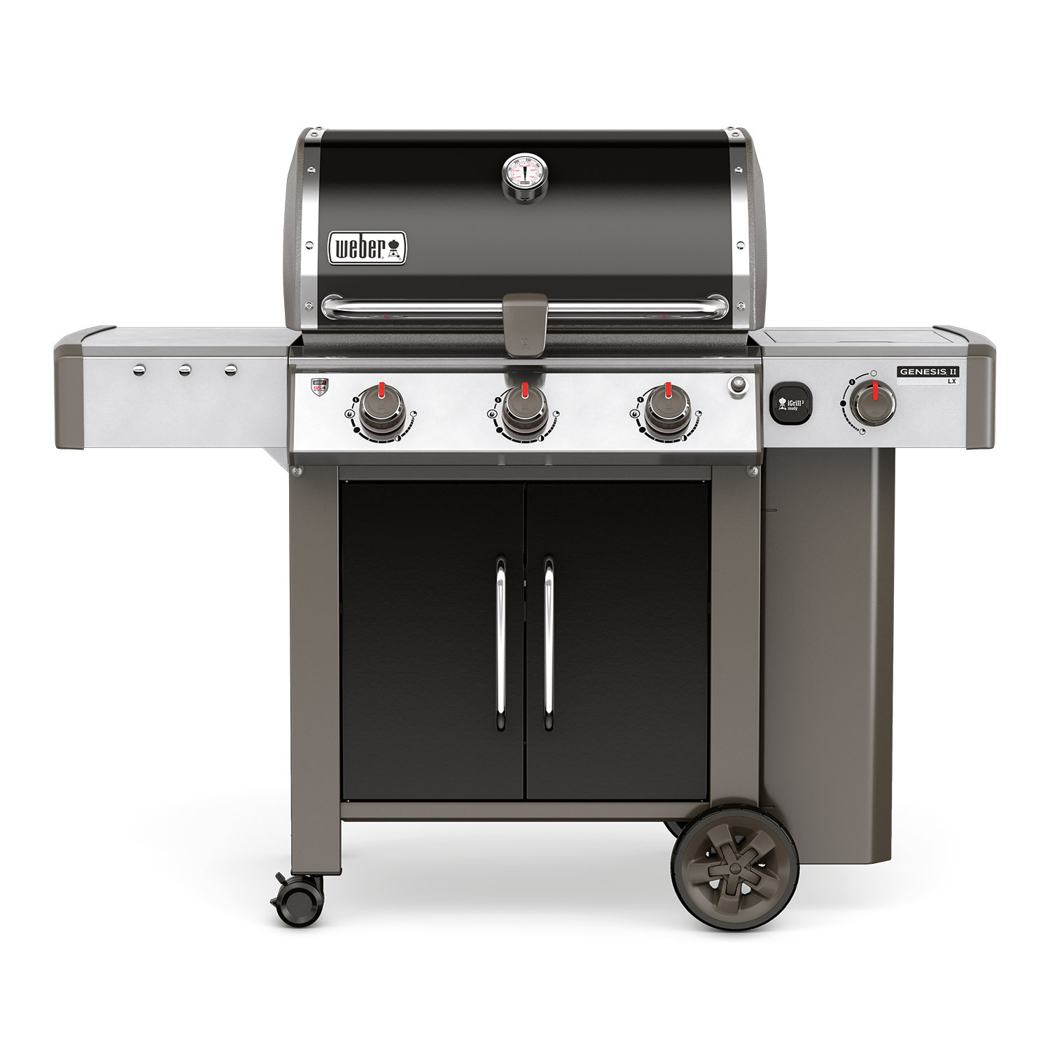 Weber Genesis II LX E-340 GBS Black Gas Barbecue 61014174