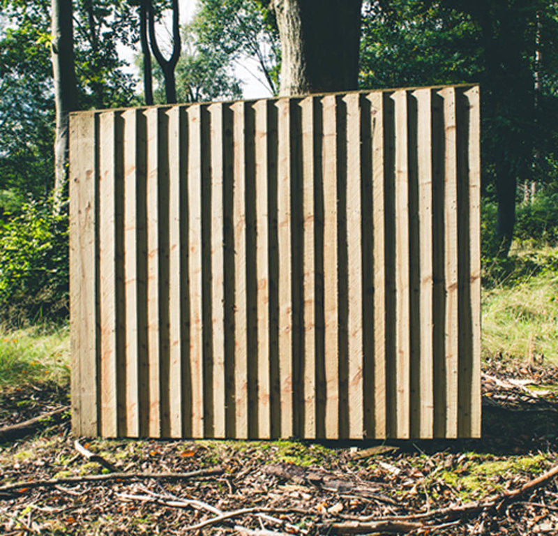 Featheredge Fence Panel 1828x1800mm (6ft x 6ft)