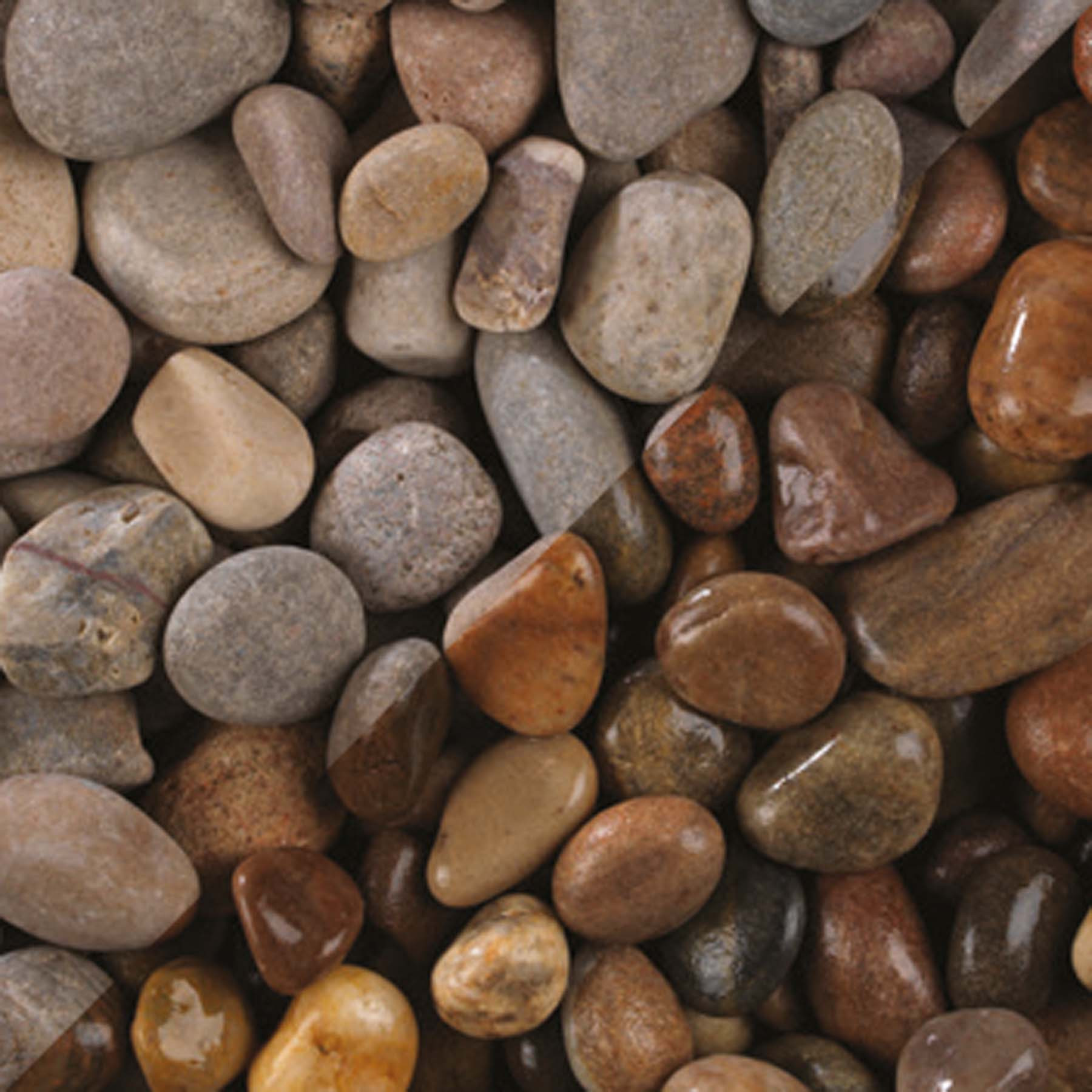 Bulk Decorative Stones : Bradstone highland pebbles mm