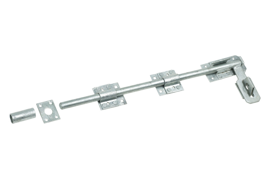 "Eliza Tinsley 8336242 24"" Galvanised Lockable Surface Bolt"
