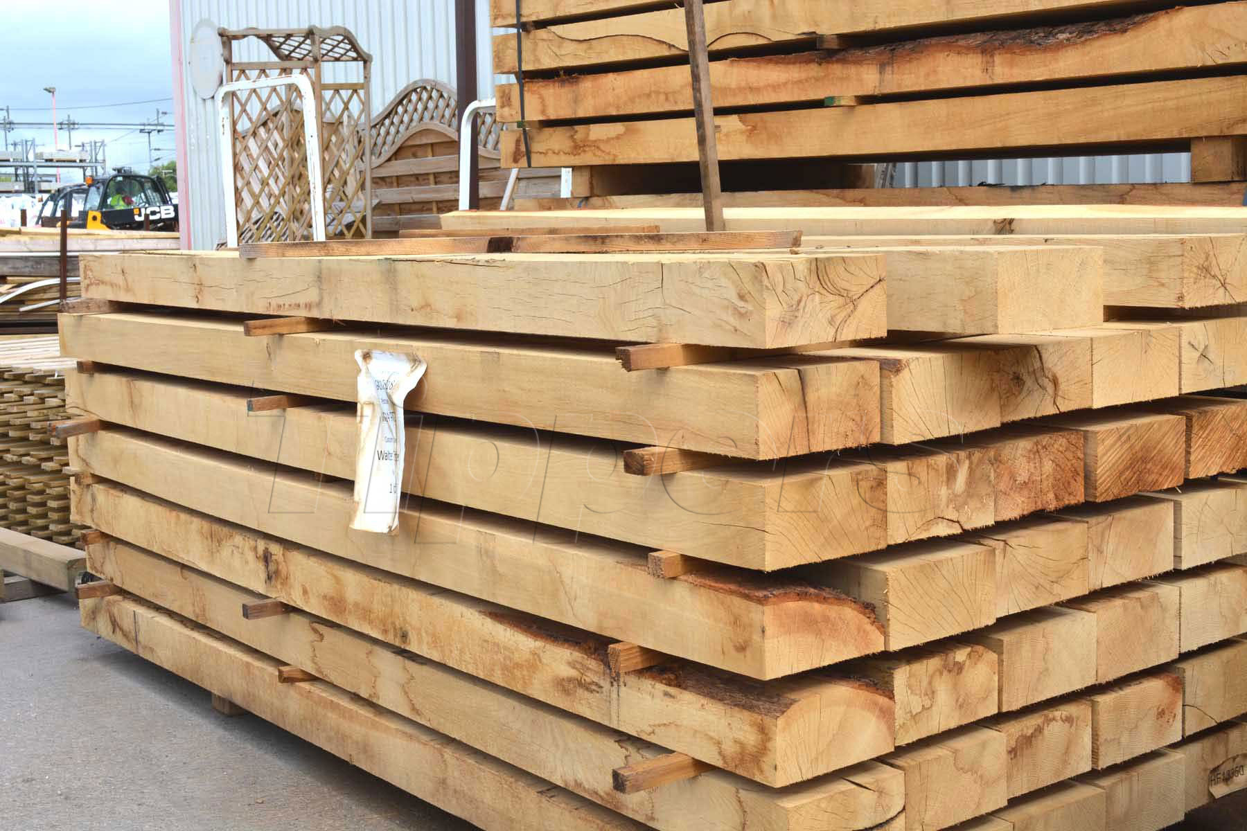 New Oak Sleeper 100mmx200mmx2.4m