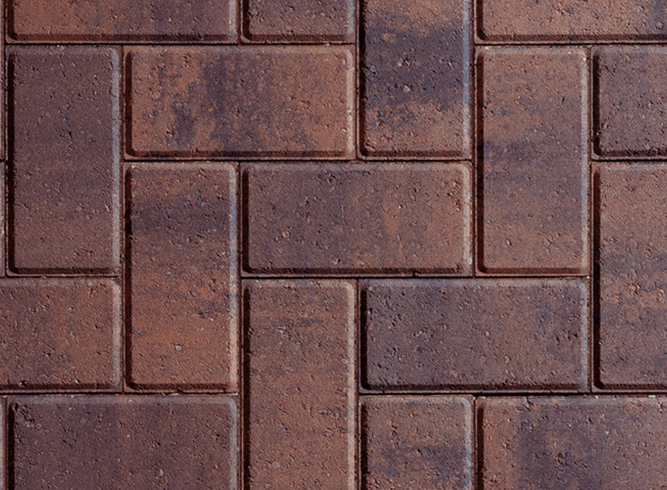 Plaspave 50 Rustic Gold 200x100x50mm Block Paving