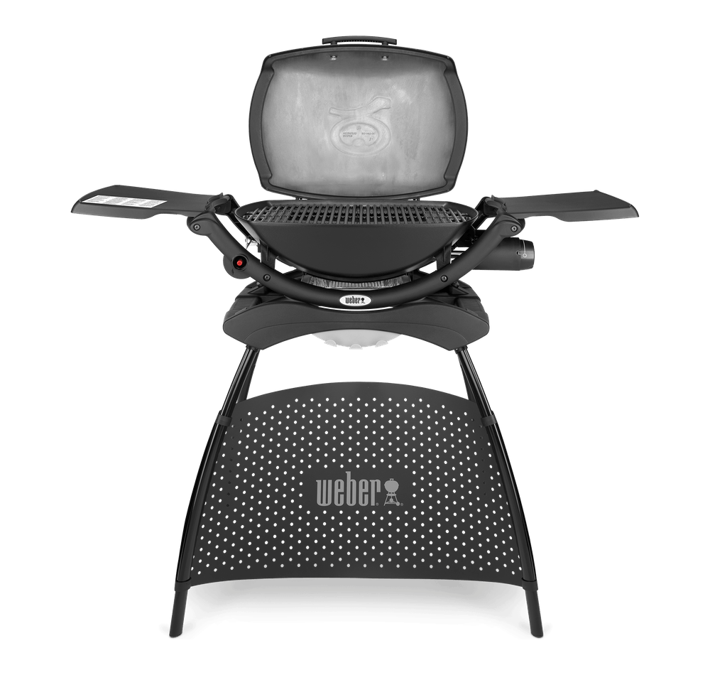 Weber Q2000 with Stand Black Gas BBQ 53010374