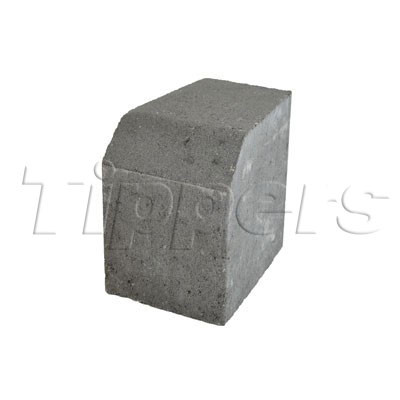 Eaton Small Charcoal Restraint Internal Radius Kerb EABPKSRICC