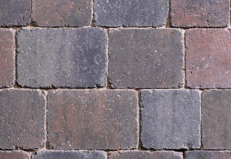 Sorrento Brunello Mixed Size Tumbled Setts Block Paving