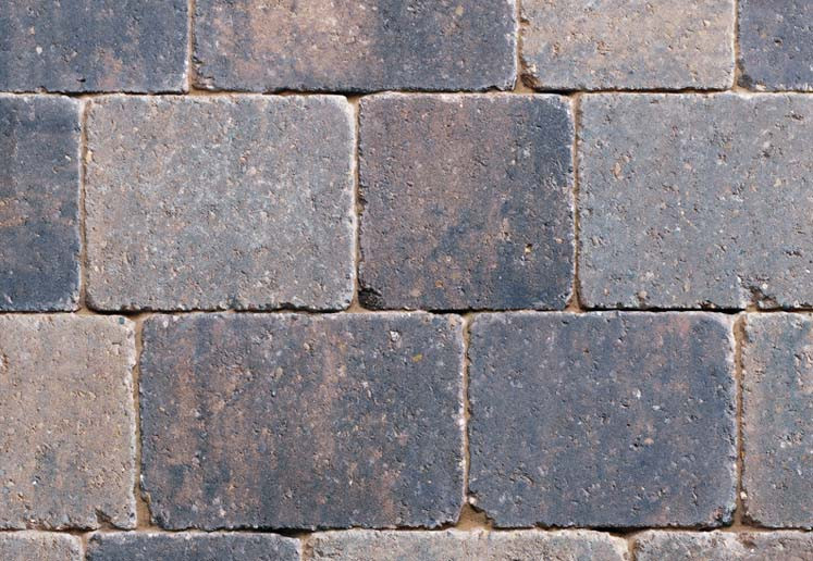 Sorrento Niddstone Mixed Size Tumbled Setts Block Paving