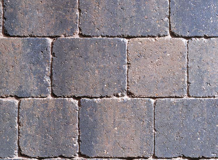 Sorrento Sarsen Stone Mixed Size Tumbled Setts Block Paving