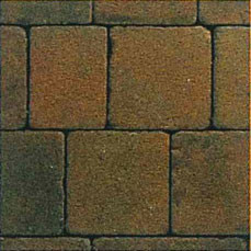 Eaton Tumble Medium Terra 156x156x50mm Block Paving EABPTTEM