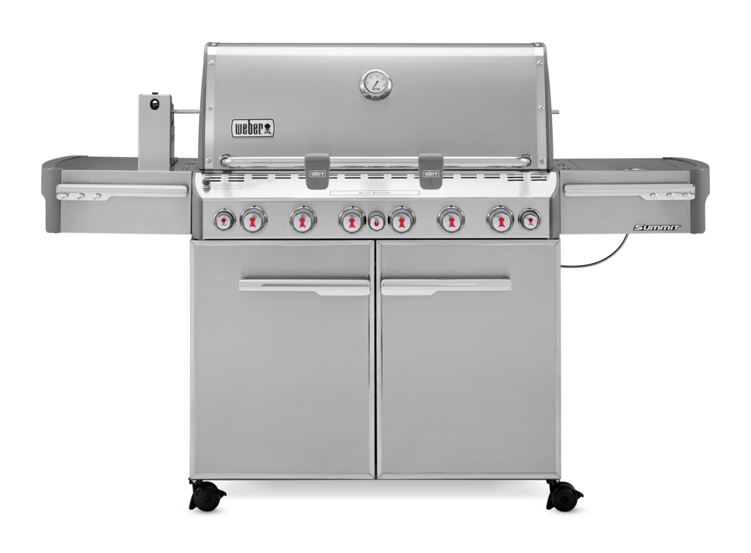 Weber Summit S-670 GBS Stainless Steel Gas BBQ 7370074