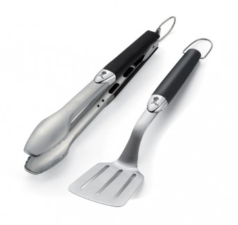 Weber Original 2pc Portable Barbecue Tool Set