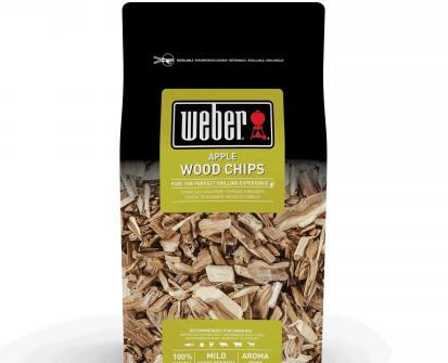 weber apple smoking chips