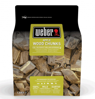 weber apple smoking wood chunks