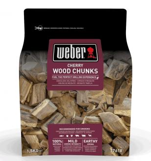 weber cherry smoking wood chunks