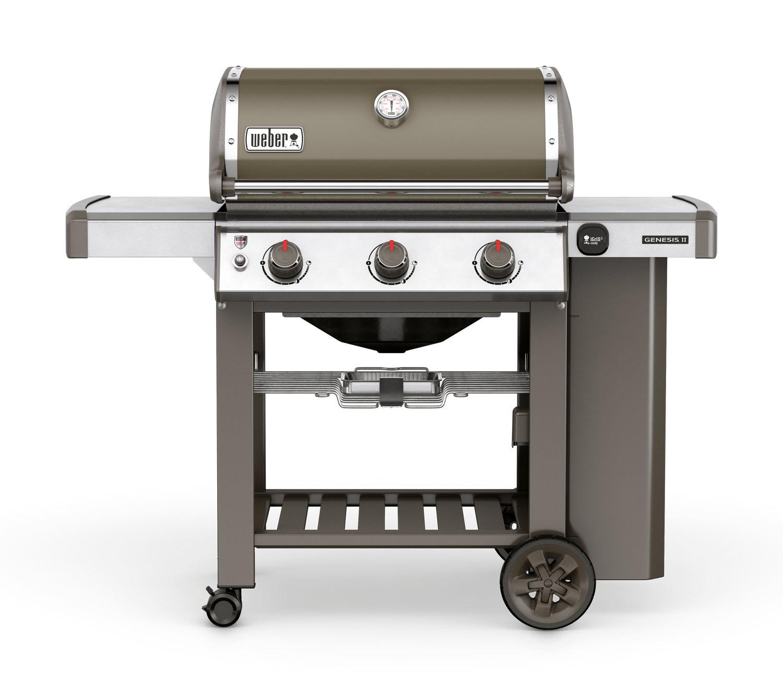 Weber Genesis II E-310 GBS Smoke Grey Gas Barbecue 61050174