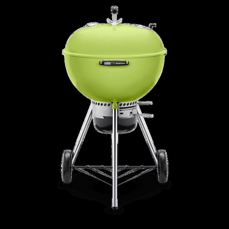 weber 57cm mastertouch kettle barbecue spring green. Black Bedroom Furniture Sets. Home Design Ideas