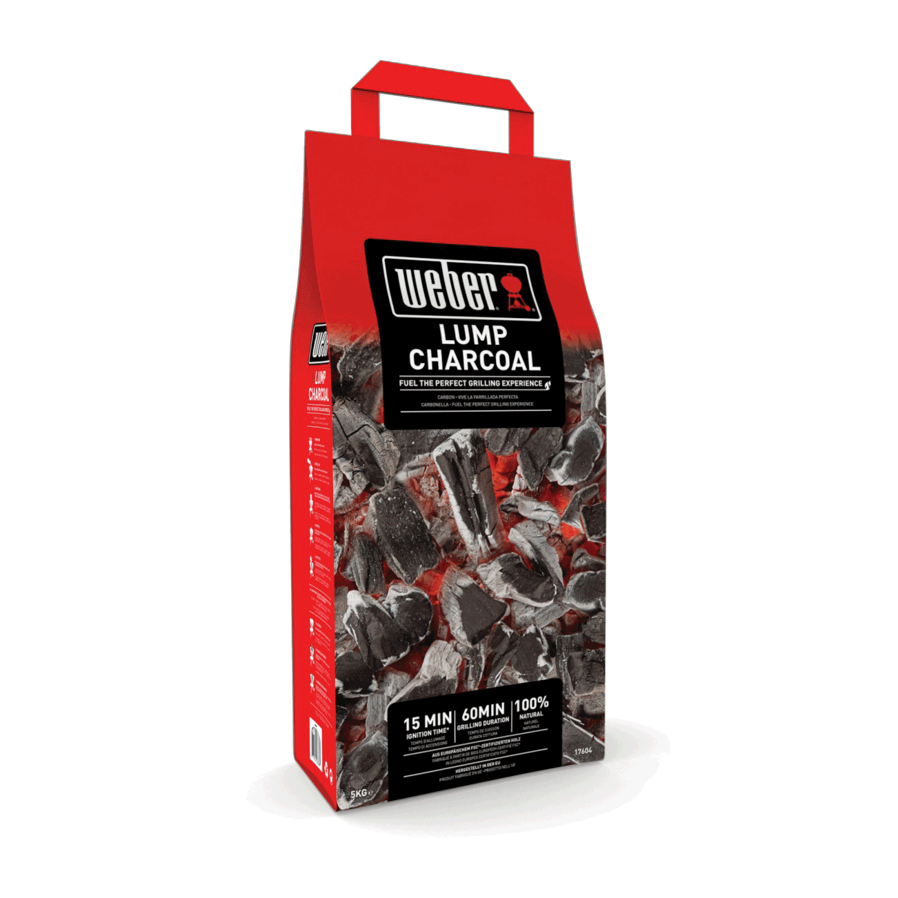 5kg bag of weber lumpwood charcoal