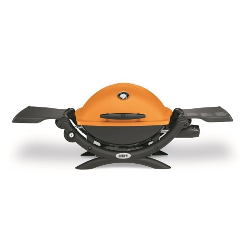 Weber Q1200 Orange Portable Gas Barbecue 51190074