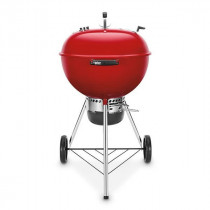 Weber Master-Touch GBS 57cm Charcoal Kettle Barbecue Red 14615504 - Limited Edition