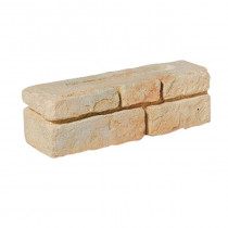 Bradstone Old Town 450x145x130 Weathered Limestone Full Block Walling Pack