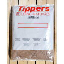 Tippers 20mm Ballast Bulk Bag