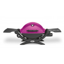 Weber Q1200 Fuchsia Pink Portable Gas Barbecue 51210074