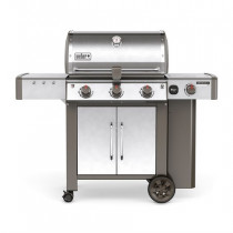 Weber Genesis II LX S-340 GBS Stainless Steel Gas Barbecue 61004174