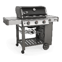 Weber Genesis II E-310 GBS Black Gas BBQ 61011174 - NEW 2019 MODEL