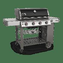 Weber Genesis II E-410 GBS Black Gas BBQ 62011174