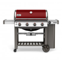 Weber Genesis II E-410 GBS Crimson Gas Barbecue 62030174