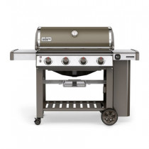 Weber Genesis II E-410 GBS Smoke Grey Gas Barbecue 62050174