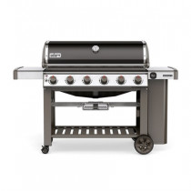 Weber Genesis II E-610 GBS Black Gas Barbecue 63010174